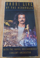 VHS Movie Yanni Live at the Acropolis with the Royal Philharmonic Orchestra