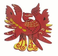 Feng Shui Red Phoenix Symbol of Fame & Reputation 6inches - Feng Shui Product