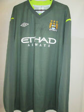 Joe Hart Signed Manchester City Goalkeeper Football Shirt COA 20649