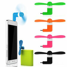 Micro Mini USB Electric Fan Chic Phone Cooling For Android Phone Samsung HTC LG