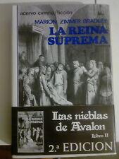 Las nieblas de Avalon_La reina suprema Nº2_Libro Marion Zimmer Bradley 2º Ed.