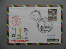 AUSTRIA, balloon-cover Olympic Games, Kufstein 1972