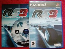 RACING SIMULATION THREE RS 3 ORIGINAL BLACK LABEL PLAYSTATION 2  PS2 PAL