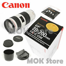 Canon EF 70-200mm F/4L F4L IS USM Lens For Canon (Unopened Retail Box)