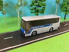 Bus Fish Bowl Highway ISUZU Tomica  1988 TOMY Super Hi-Decker Bus 1:64 Scale