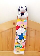 Peanust Snoopy Hand Towel 100% cotton W/Towel Ring&Doll