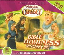 NEW Adventures in Odyssey BIBLE EYEWITNESS COLLECTOR'S SET 12-Audio CDs FOTF