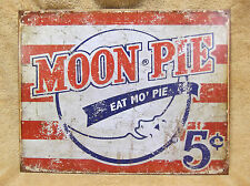 Moon Pie Kitchen TIN METAL SIGN DECOR Snack NEW