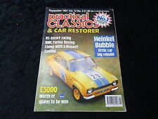 Practical Classics Magazine Sept 1981 RS Escort, Renault Gordini, Heinkel Bubble
