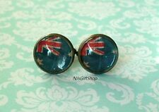 16 mm Old vintage Australian flags Cuff Links ,Mens Accessories