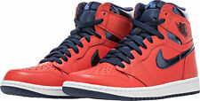 NIB NIKE Mens 10.5 AIR JORDAN 1 HIGH OG 555088 606 LT CRIMSON CASUAL SHOES $160