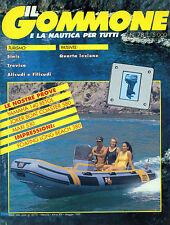 * IL GOMMONE E LA NAUTICA PER TUTTI N°78/ MAG.1989 *