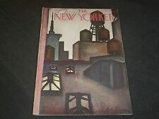 1973 OCTOBER 8 NEW YORKER MAGAZINE - BEAUTIFUL FRONT COVER - O 6798