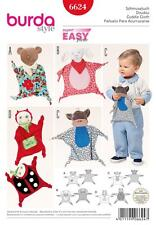 BURDA SEWING PATTERN SUPER EASY CUDDLE CLOTH TOYS BEAR LAMB MONKEY LADY BUG 6624
