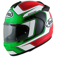 Arai Vector 2 Giugliano FREE ship option motorcycle helmet Flag Italy XL Ducati