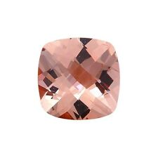 1.25CT 7mm Natural Cushion Cut Morganite Loose Gemstones