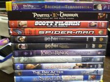 (16) Childrens Adventure DVD Lot: (2) Harry Potter Pirates  (2) LOTR Disney MORE