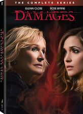 Damages Complete Series DVD Set 1-5 Season TV Show Box Collection Episode Lot R1
