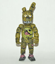 TOY MEXICAN FIGURE JUMBO springtrap FIVE NIGHTS AT FREDDY'S ANIMATRONICS 8IN