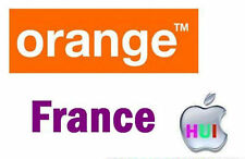 Factory Unlock for iPhone locked France Orange 3/4/4s/5/5s/5c 90% success 1 day