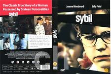 SYBIL (1976) - Daniel Petrie, Joanne Woodward, Sally Field, Brad Davis  DVD NEW