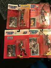 4 Figure Lot Shaquille O'Neal Starting Lineup SLU NIB 93 94 96 97 Great Condit!