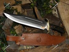 "Timber rattler/Western outlaw/Bowie/Knife/Hunting/Full tang/Survival/Zombie/16""+"