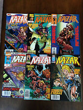 KA-ZAR COMIC LOT 6 ISSUES MARVEL COMICS 3RD SERIES SAVAGE LAND