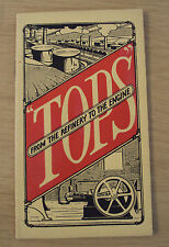 "1913 ADVERTISING Booklet~""TOPS""~Cheap Fuel/COMMERCIAL ENGINE CO~Los Angeles CA~"