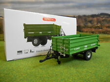 WIKING BRANTNER E6035 3 WAY SMALL TIPPER TRAILER 1/32 7348 BOXED & NEW