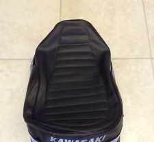 Kawasaki G4 TR G4TRA  G4TRB G4TRC G4TRD G4TRE  Seat Cover Silver Dyed Logo