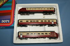 Marklin 3071 NS SBB TEE Diesel Train Set Edelweiss Express Dark-Red OVP