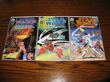 Dark Horse - STAR WARS River of Chaos 1,2,3 Comic Lot!!  1995  VF+