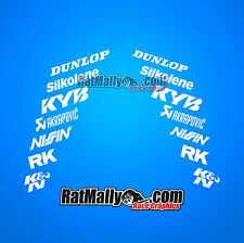 RACE SPONSOR STACK v3.3 MOTORCYCLE CAR DECALS STICKERS GRAPHICS **SINGLE PACK