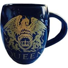 Queen - Gold Crest Sculptured Coffee / Tea Ceramic Mug - New & Official In Box