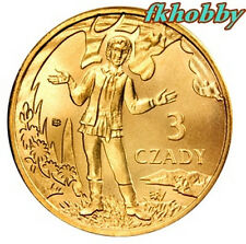 Poland Ustrzyki Dolne 2008 coins 3 czady