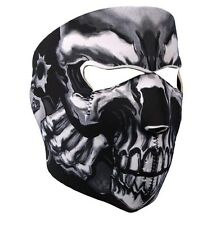 Masque Cagoule Neoprene Assassin's Skull - Airsoft  Paintball  Moto  Ski  Snow