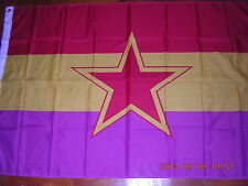 100% NEW Reproduced Flag of the Spanish Communist Party Spain Ensign 3ftX5ft