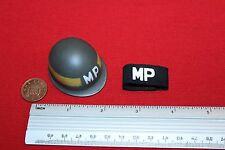 DID DRAGON IN DREAMS 1:6TH SCALE WW2 U.S. ARMY MILITARY POLICE HELMET
