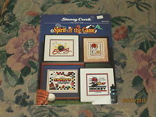 Spirit of the Game - Sports Cross Stitch Pictures by Stoney Creek Collection