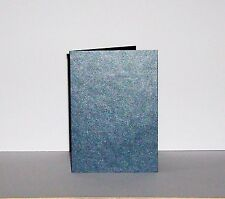 15 x A6 Pearlescent 'Midnight Blue' Card Blanks & White Envelopes - 300gsm - 7p!