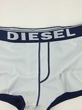 Diesel New Men's Aloha Swimming Brief Swim Shorts Swimwear Color White  Size S