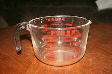 PYREX EIGHT CUP MEASURING GLASS CUP 2 TO 8 CUP MADE IN USA BY CORNING