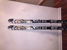brand new K2 163cm skis with bindings