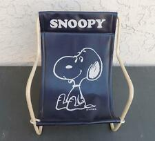 Vintage 1958 Snoopy Peanuts Toy Vinyl Sling Chair Excellent