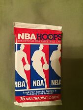1990-91 NBA Hoops Wax Pack (8 Packs for Sale)