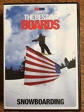 411VM SKATEBOARDING - THE BEST OF SNOWBOARDING ~ UK DVD
