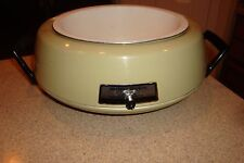 VINTAGE MIRRO-MATIC MINI-OVEN, SLOW COOKER/ DEEP FRYER M-0359-77 ~WITHOUT LID