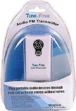 Tunefree FM Transmitter for use In - Car or with Home Stereo Radio