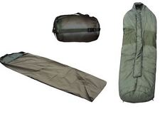 BRITISH ARMY CAMPING DEAL -SLEEPING BAG, BIVI BAG, COMP SACK -ONLY ONE AVAILABLE